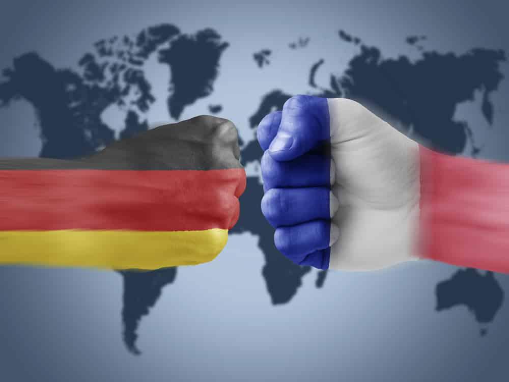 France allemagne importation exportation