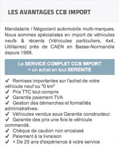Avantages CCB Import