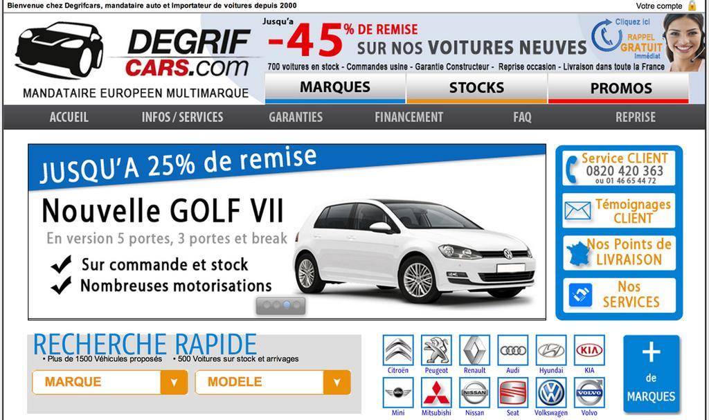 Degrifcars.com