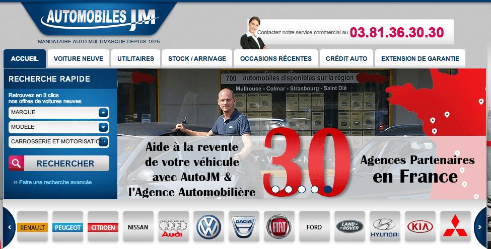 Site AutoJM.fr