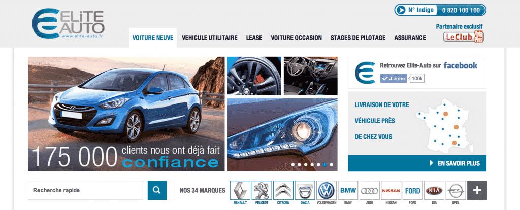 Site Elite-Auto