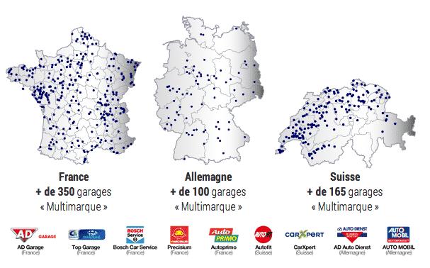réseau Multimarque