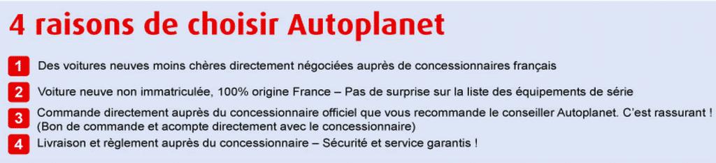 Avantages Autoplanet