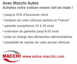 avantages Macchi