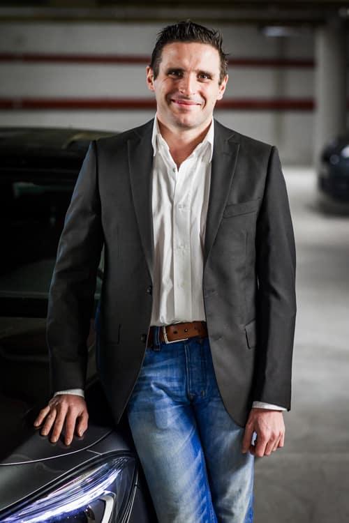 Francis Clotilde représente Stallion Motos dans l'agence Strasbourgeoise