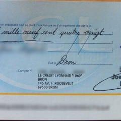 Faux chèque de banque : comment les vérifier ?