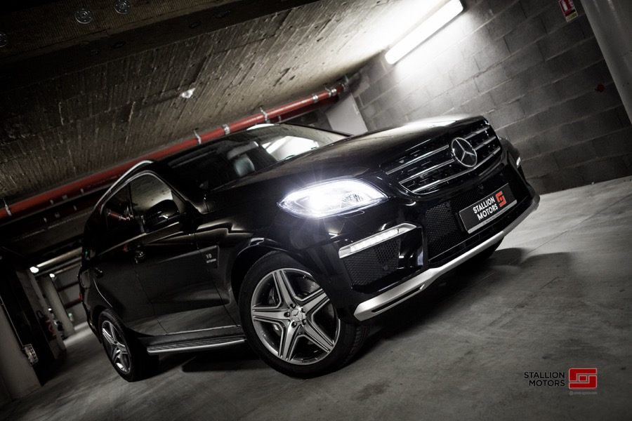 Mercedes ML 63 AMG - Stallion Motors