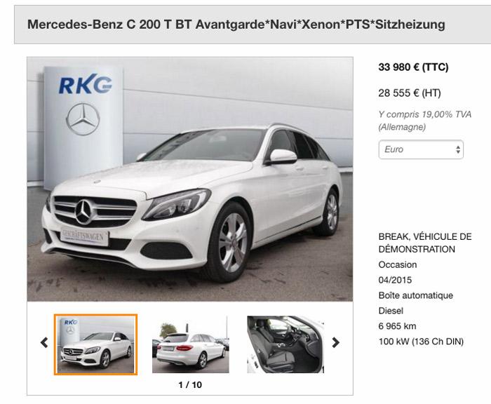 Mercedes Classe C Selektive Ware