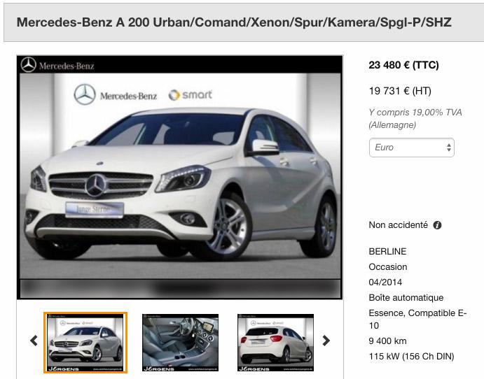 Mercedes plus Selektive Ware
