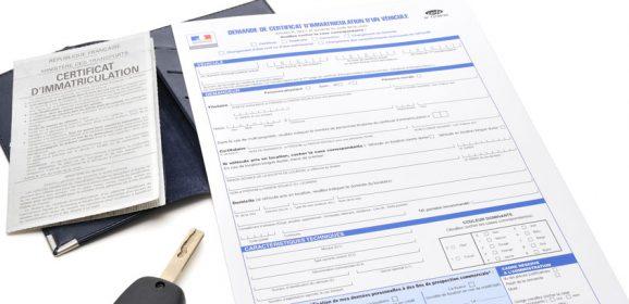 Certificat Provisoire d'Immatriculation en ligne : CPI – WW – Carte grise provisoire