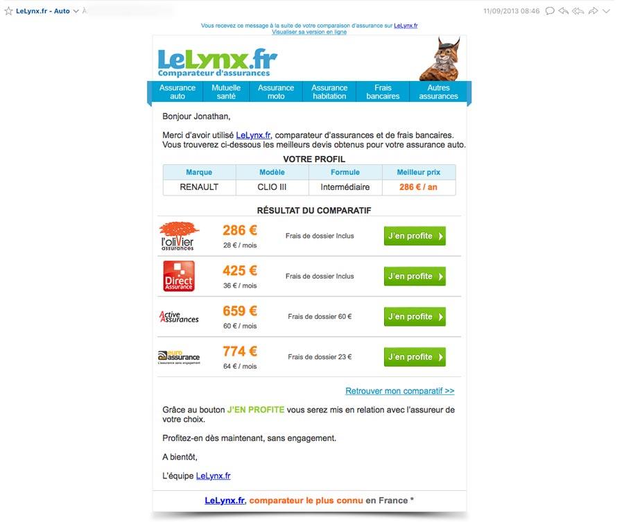 comparateur assurance lelynx