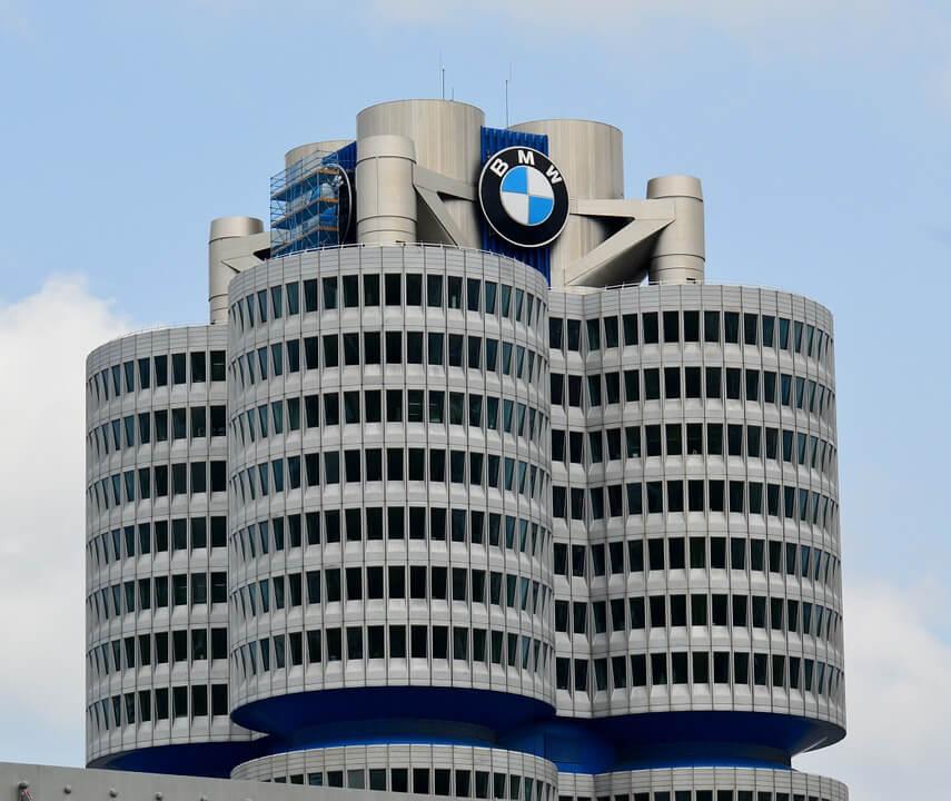 Siège BMW à Munich