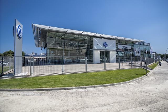 Concessionnaire Volkswagen allemand
