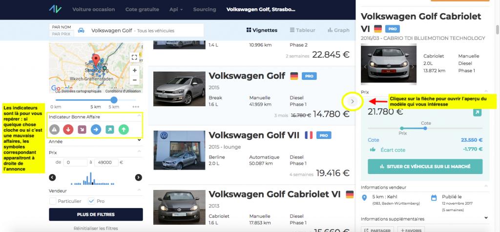 resultats recherche voiture d'occasion