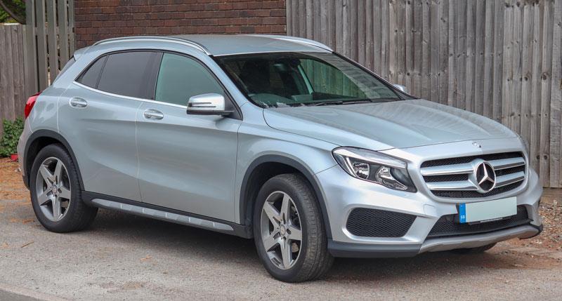 Mercedes GLA moins cher en Allemagne