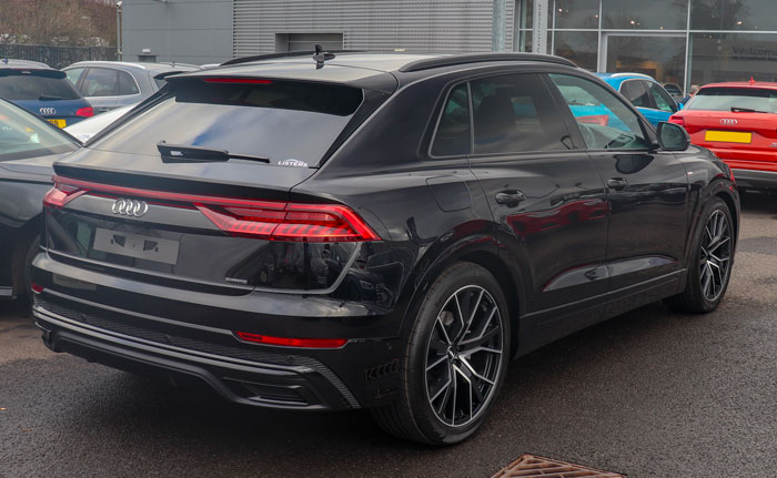 Audi Q8 d'occasion d'Allemagne