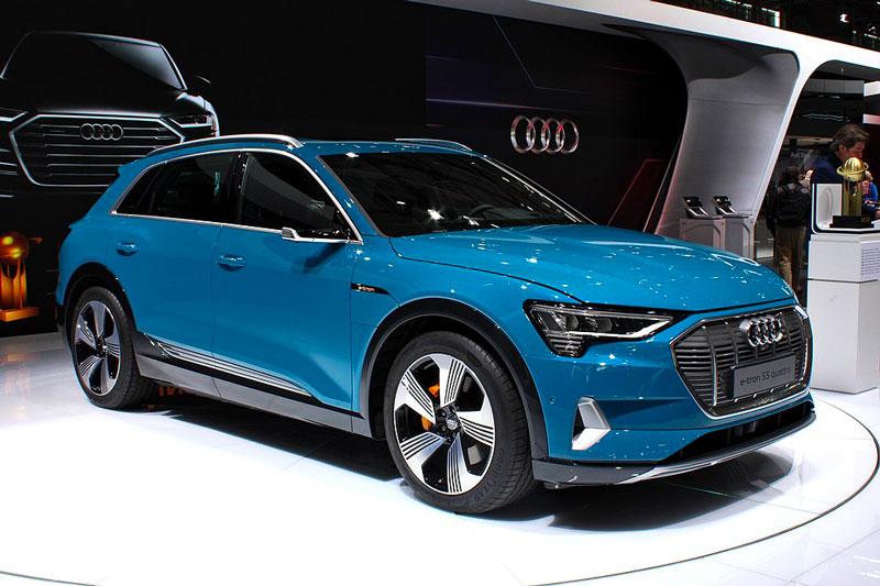 Audi E-tron d'occasion Allemagne