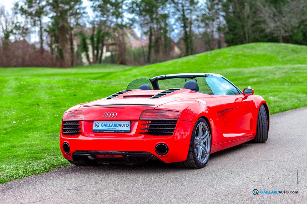 Une Audi R8 importée de concession allemande par Jean-Baptiste GAILLARD