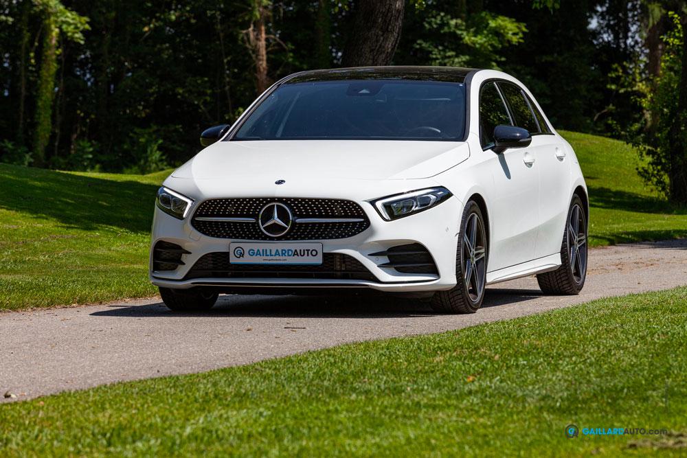 Une Mercedes Classe A importée d'Allemagne par Gaillard Auto